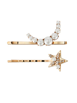 'Stardust' Pearl Embellished Hair Slide Set
