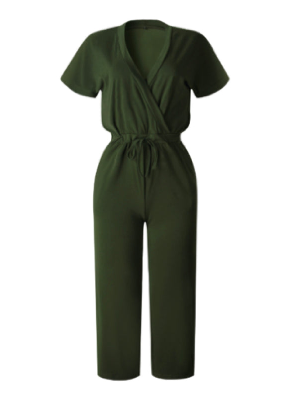 'Steph' Drawstring Jumpsuit (3 Colors)