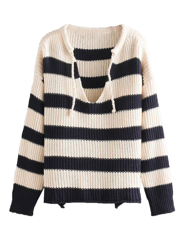 'Randy' Striped Knitted Sweater