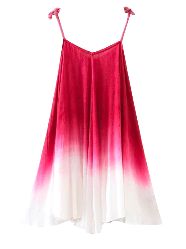 'Omi' Ombré Tie Dye Dress (2 Colors)