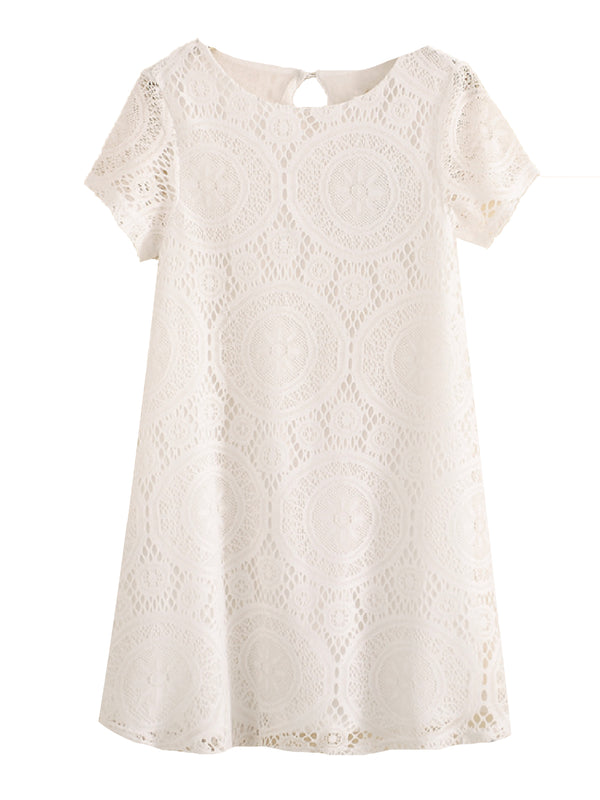 'Aka' Lace Shift Dress (4 Colors)