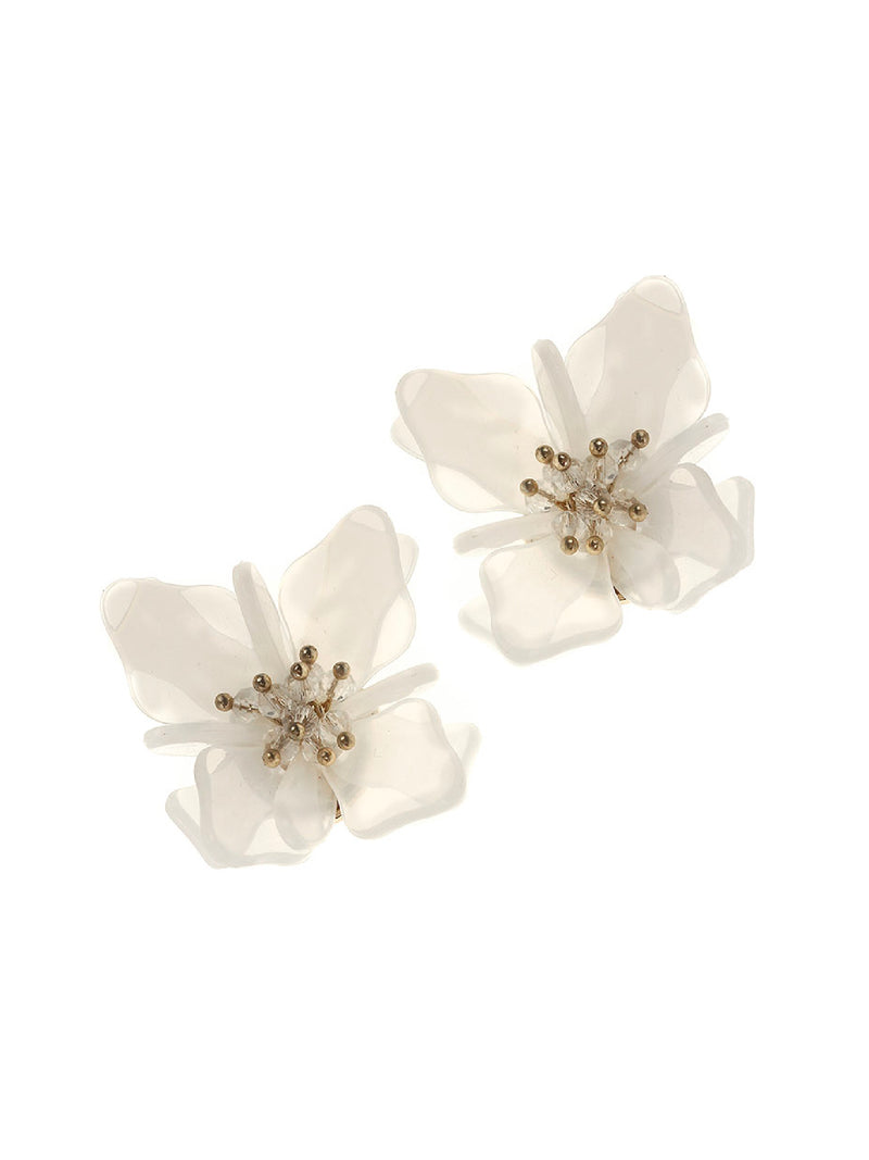 'Minnie' Flower Stud Earrings