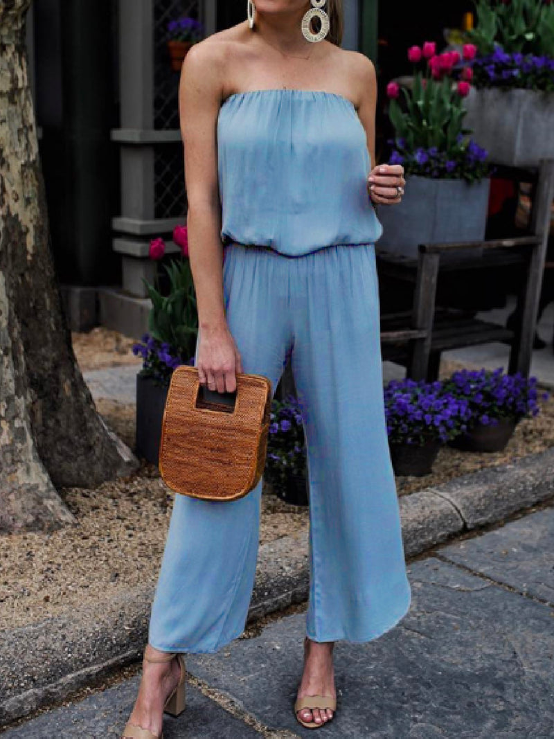 'Quera' Sleeveless Jumpsuit (2 Colors)