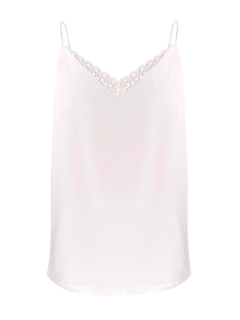 'Cabello' Sheer Lace Cami Top (2 Colors)