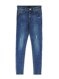 'Vale' Distressed Skinny Jeans