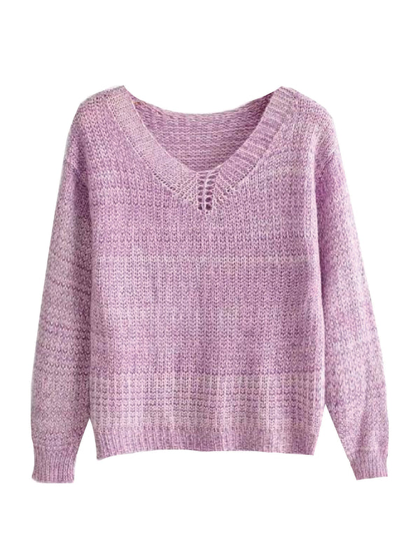 'Lawern' Lightweight Knitted Sweater (2 Colors)