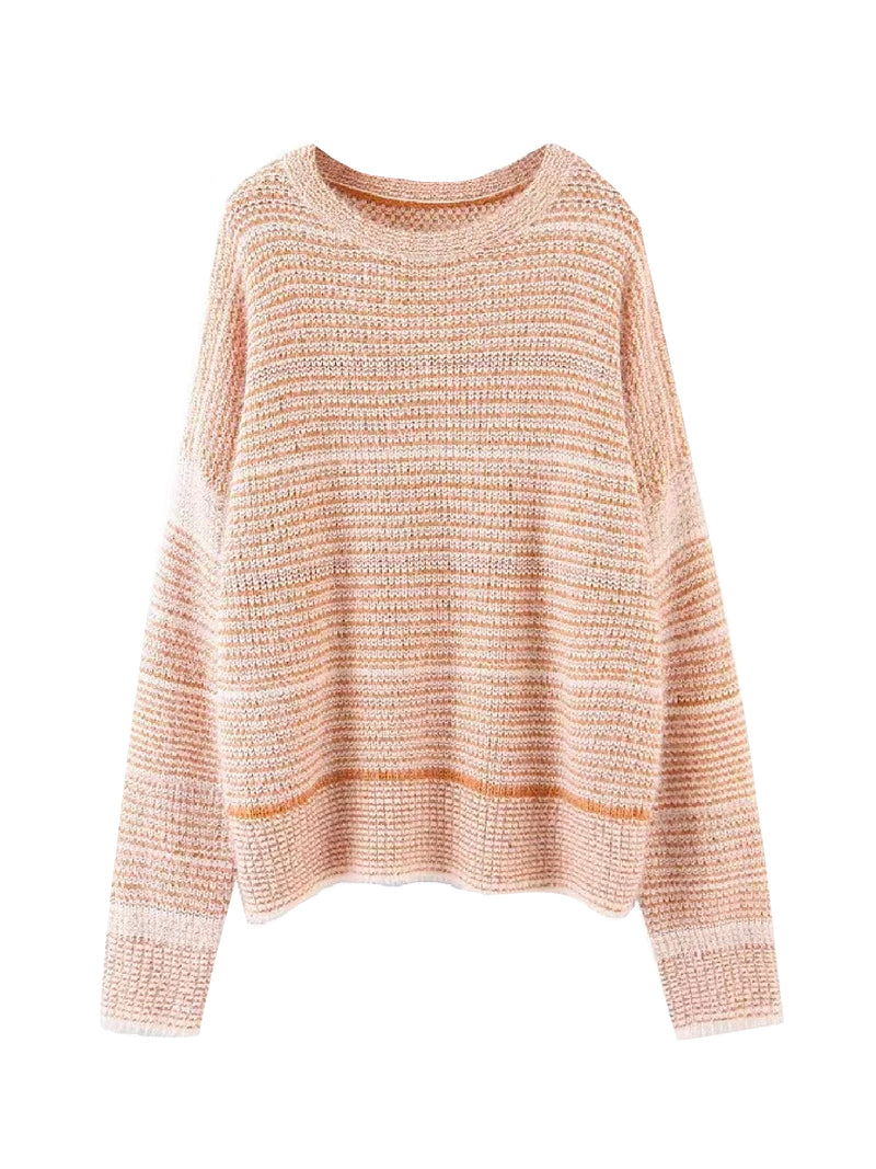 'Lu' Striped Mohair Sweater (2 Colors)