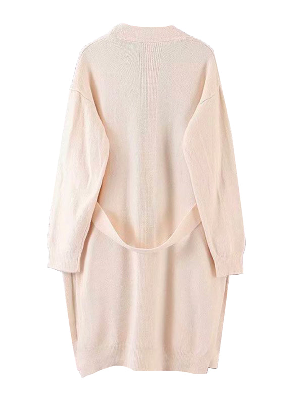 'Anthea' Soft Belted Open Cardigan (4 Colors)