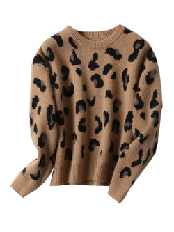 'Richie' Leopard Print Sweater (3 Colors)