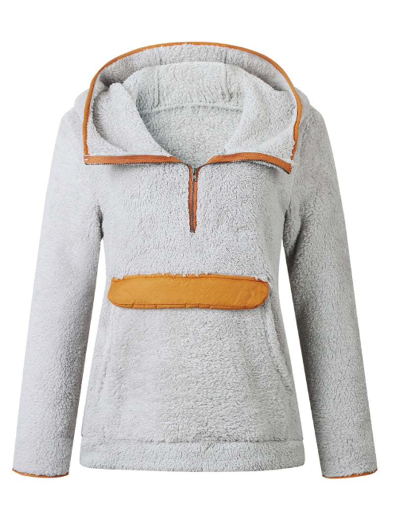 'Josephine' Hooded Fleece Pullover (3 Colors)