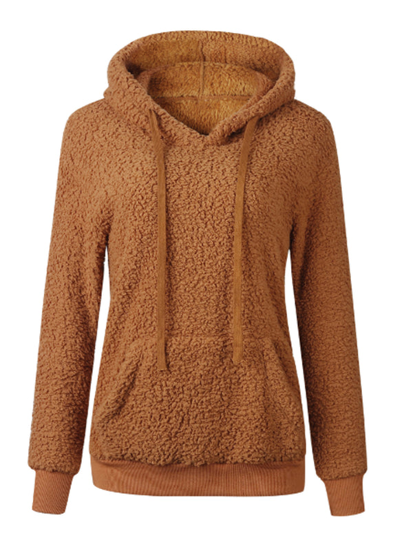 'Savannah' Fleece Teddy Hoodie (3 Colors)
