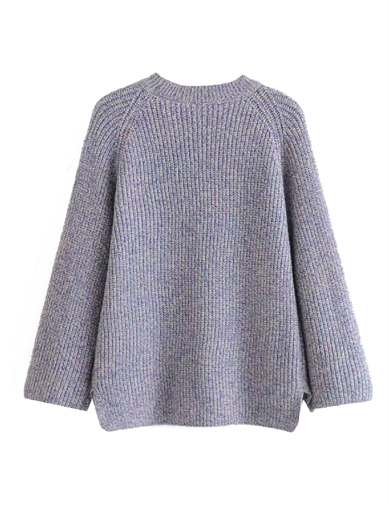 'Gale' Cut-Out Front Sweater (3 Colors)