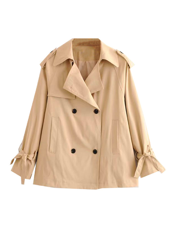 'Rakel' Short Trench Coat