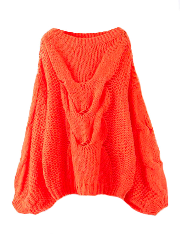 'Prima' Loose Knit Slouchy Sweater (2 Colors)