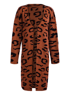 'Amy' Leopard Print Open Cardigan (4 Colors)