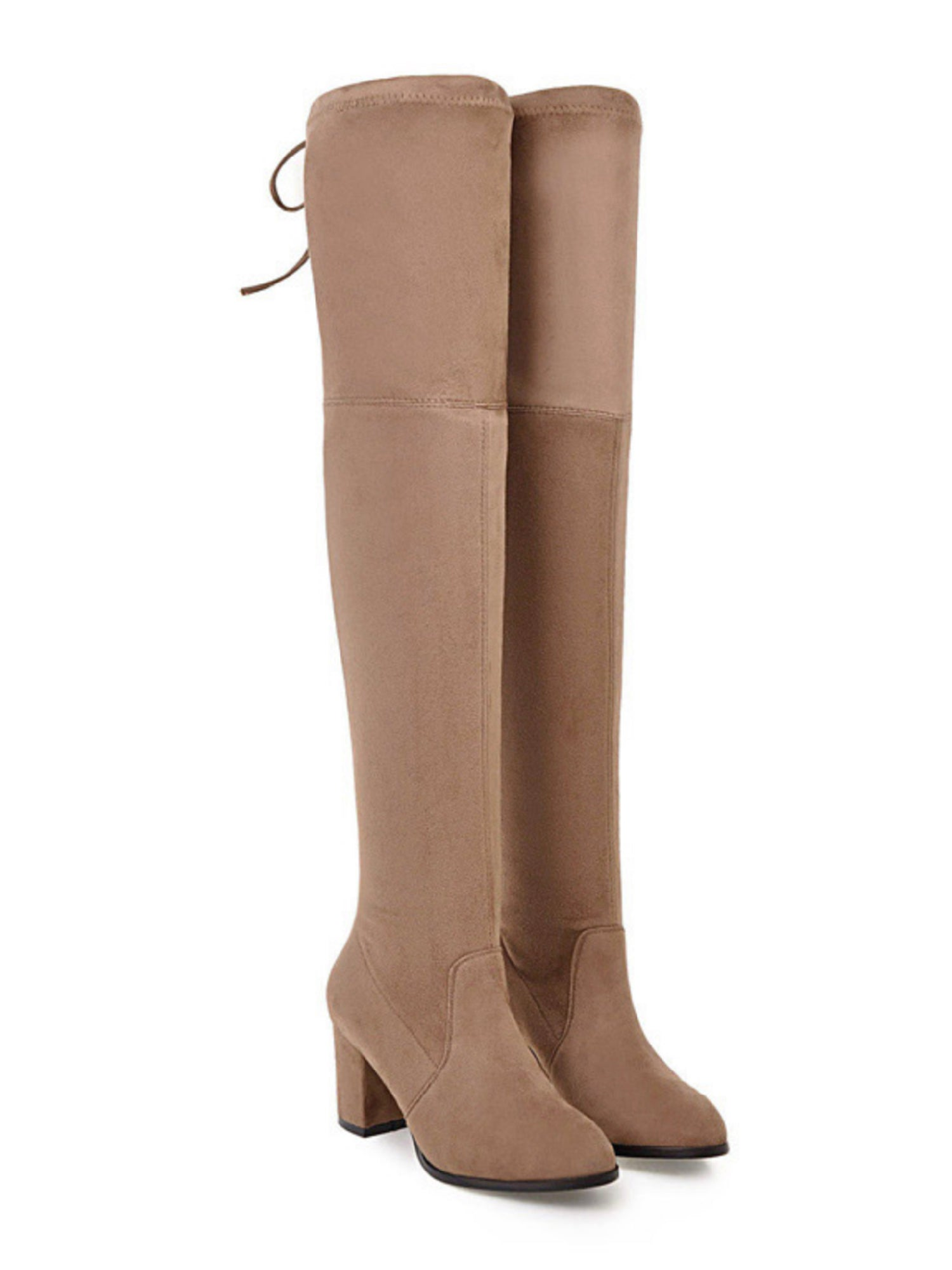 'Julie' Heeled Over The Knee Boots (5 Colors)