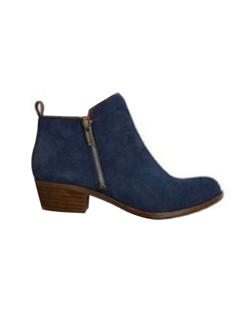 'Ofie' Retro Effect Ankle Boots (4 Colors)