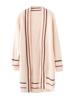 'Roksana' Open Front Long Cardigan (3 Colors)