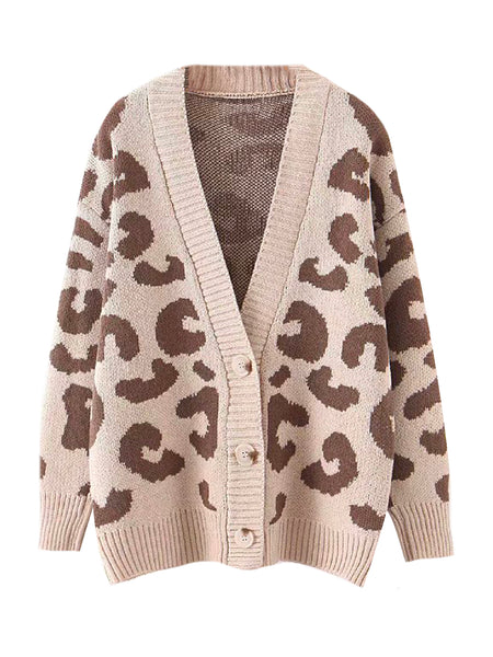 'penelope' Leopard Print Cardigan (3 Colors) by Goodnight Macaroon