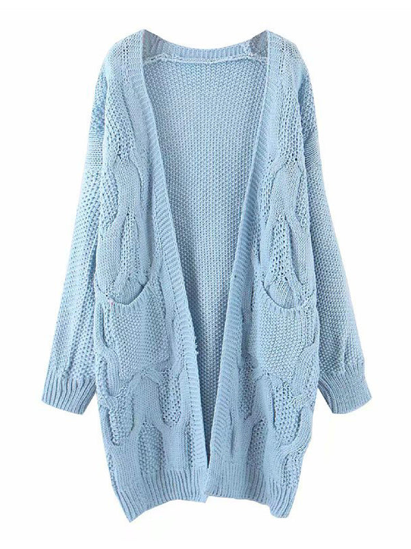 'Diana' Open Front Cardigan (3 Colors)