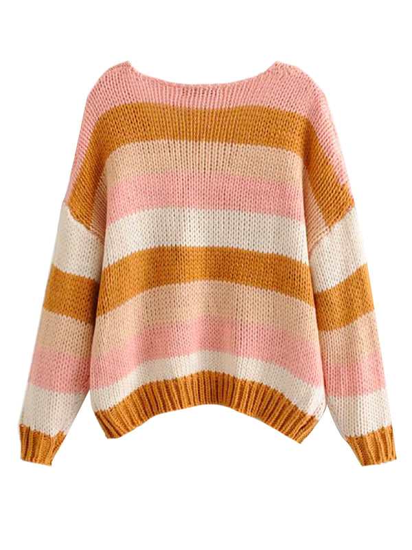 'Britta' Color Block Sweater