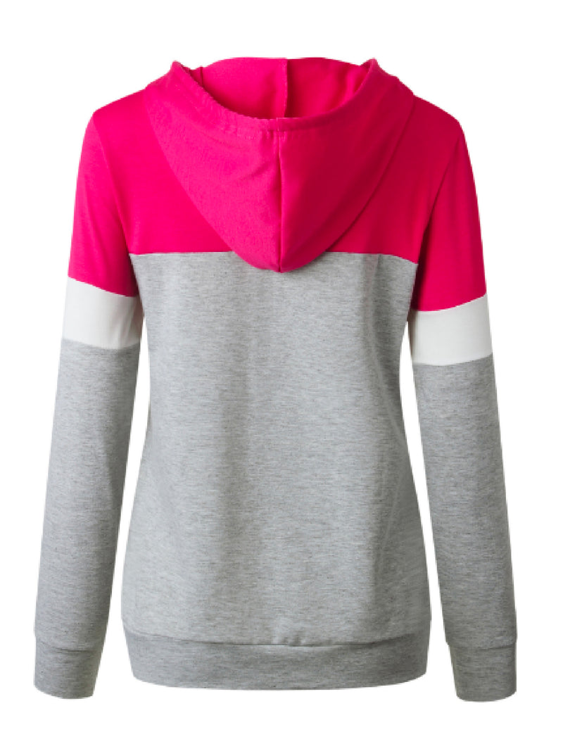 'Toffee' Color Block Hoodie (3 Colors)