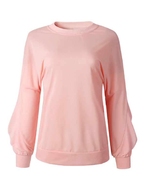 'Virginia' Ruffled Sweatshirt
