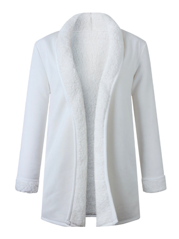 'Vanessa' Fleece Lined Cardigan