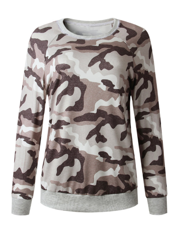 'Doris' Camouflage Sweatshirt (2 Colors)