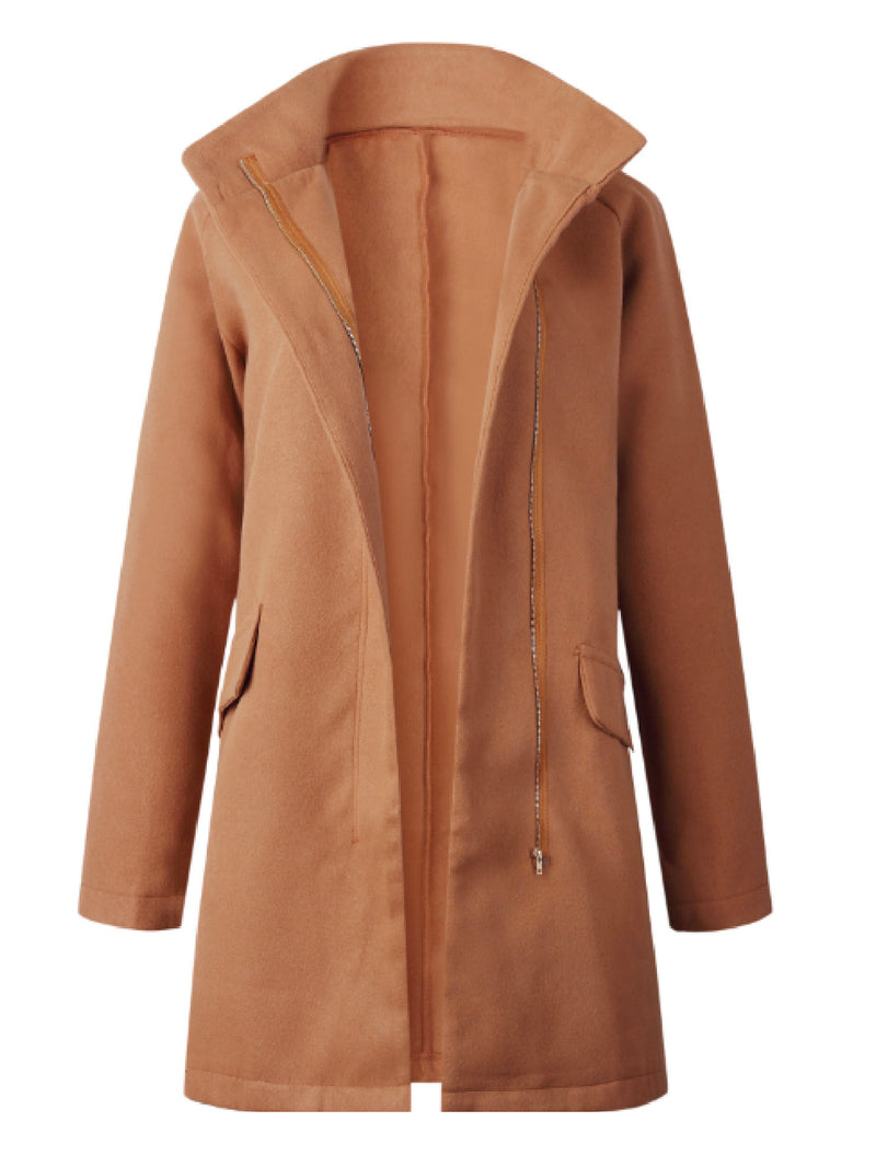 'Karis' Zip Up Coat (2 Colors)