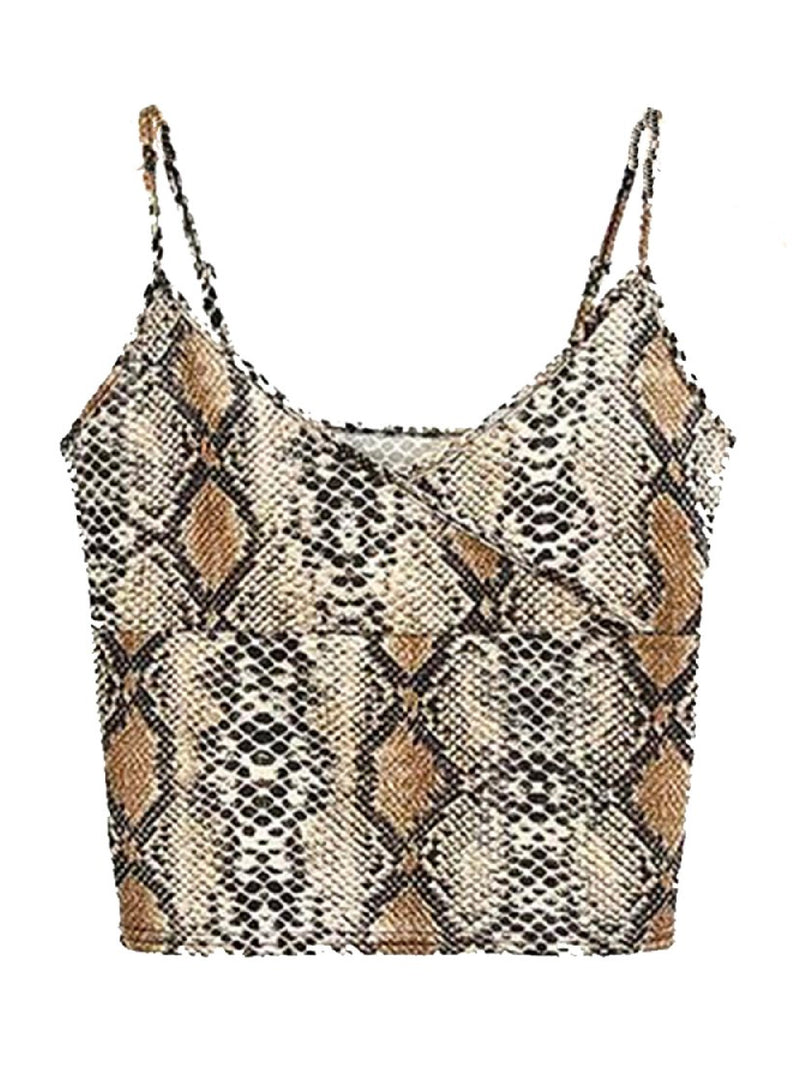 'Hailey' Animal Print Cami Top (2 Colors)