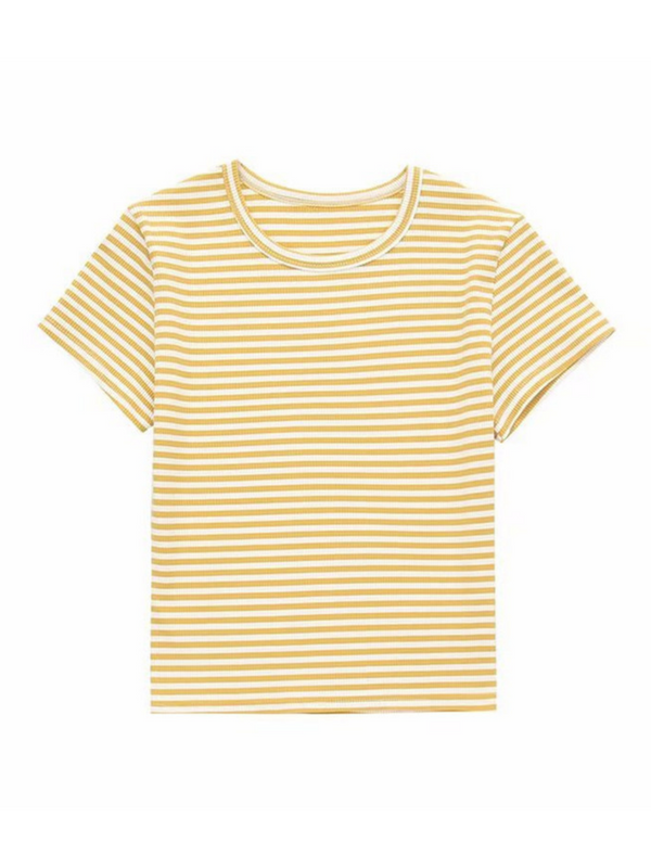 'Joie' Crewneck Striped Top (2 Colors)