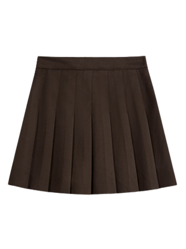 'Yuri' Pleated Mini Skirt (4 Colors)