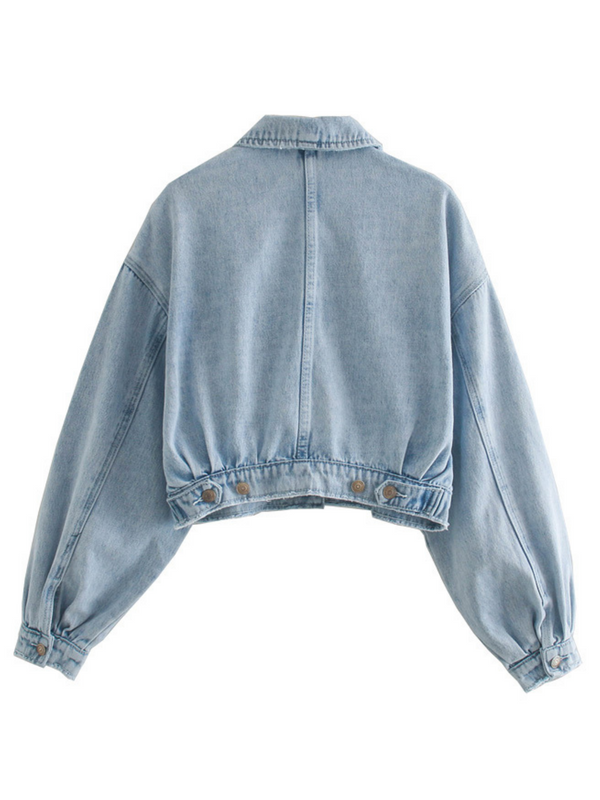 'Ivy' Light Washed Denim Jacket