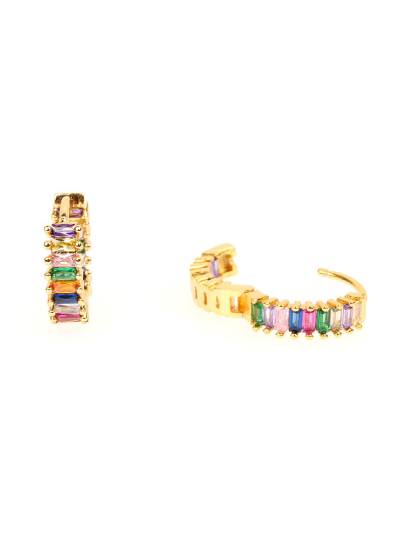 'Ashlyn' Rainbow Crystals Earrings