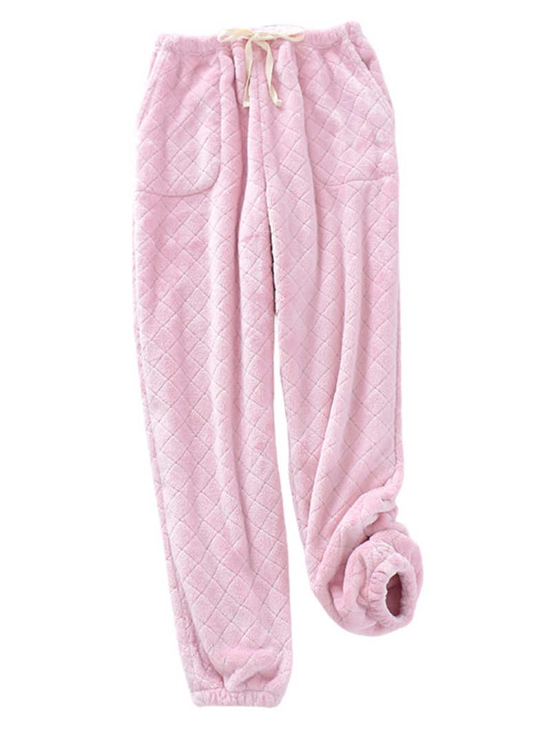'Jobi' Couple's Pocket Quilted Soft Cozy Pants (3 Colors)