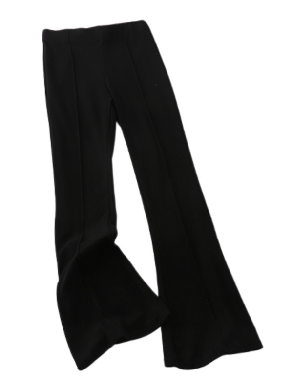 'Roddy' Soft Elastic Waist Wide Leg Pants (2 Colors)