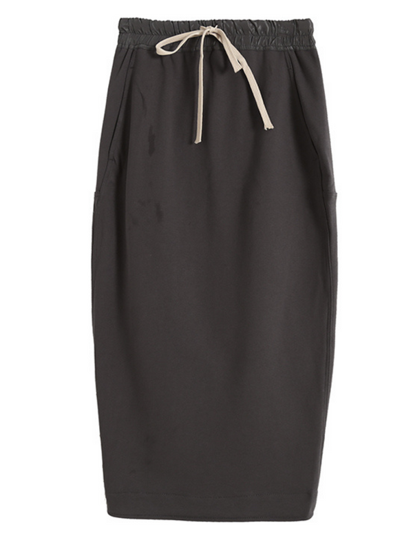 'Giselle' Tied Waist Midi Skirt (2 Colors)