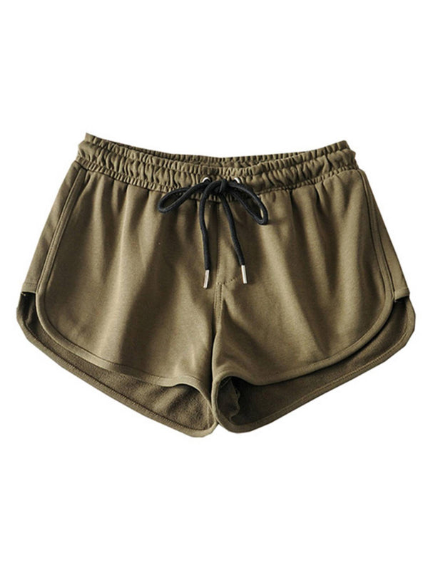 'Karina' Elastic Waist Casual Shorts (2 Colors)