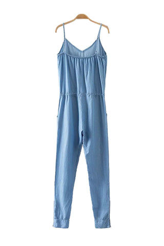 'Robynne' Chambray Jumpsuit