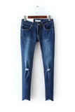 'Brooklyn' Classic Blue Denim Skinny Jeans