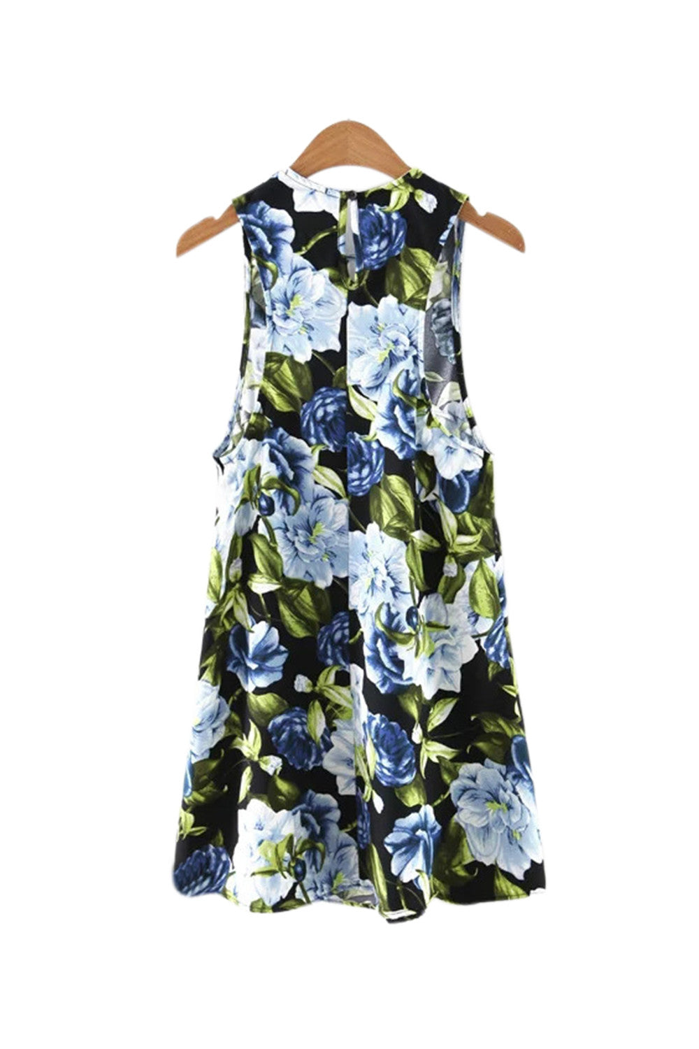 'Evvie' Floral Rose Dress