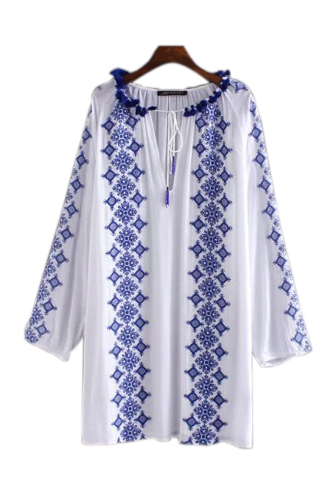 Goodnight Macaroon 'Yvonne' Boho Cover-up Tunic