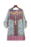 'Nancy' Boho Kaftan Beach Dress