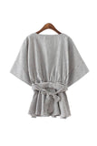 Goodnight Macaroon 'Judy' Cross Tunic