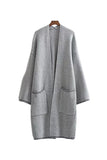 'Manki' Grey Marl Cardigan