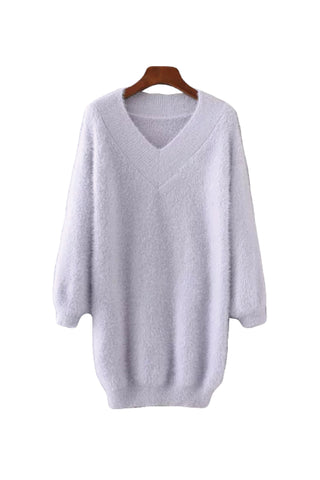 'Debby' Chunky Longline Sweater - Goodnight Macaroon