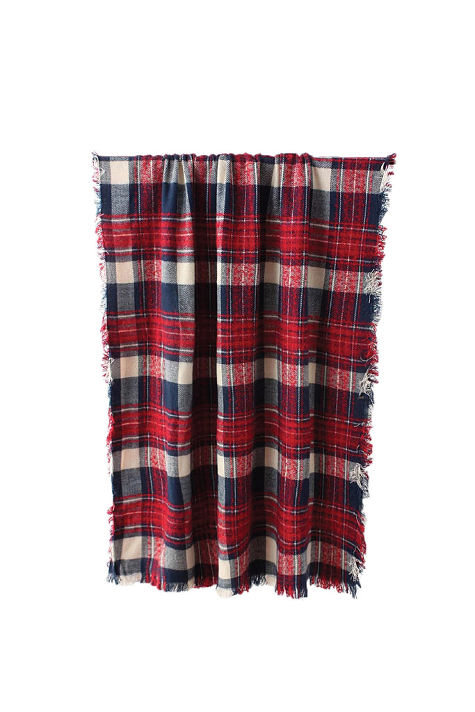 'Ketut' Plaid Blanket Scarf