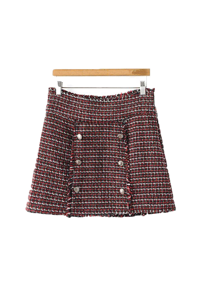 'Sarita' Mini Tweed Skirt