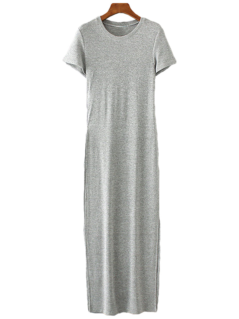 'Shanon' Grey Casual One Piece